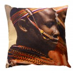 Kussen African Tribe Colourfull; 45x45 cm (12-26)