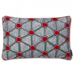 Hay Embroidered Cushion Cells 57 x 35 cm