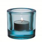 Iittala Kivi Waxinelichthouder 6 cm - Lichtblauw