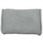 BePure Beanbag kussen Groen-grijs 40x60 cm (Groen-grijs)