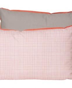 pt, Sierkussen Grid roze, 50x30cm